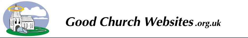 Good Church Websites - About